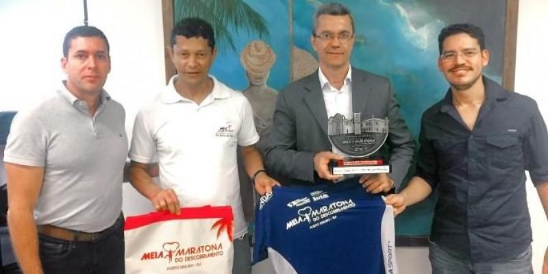 Diretores da Vida Sport são recebidos na SETRE em Salvador.