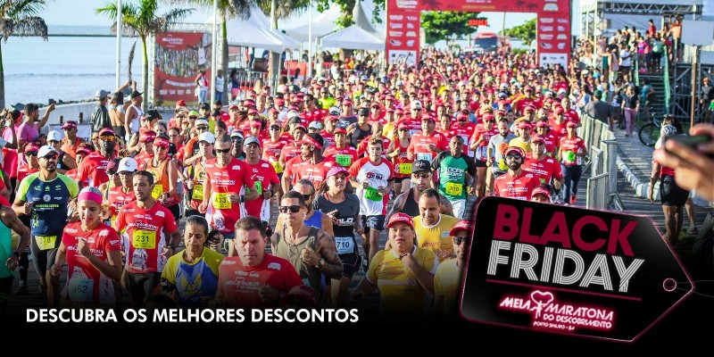 Meia Maratona do Descobrimento entra na onda da Black Friday
