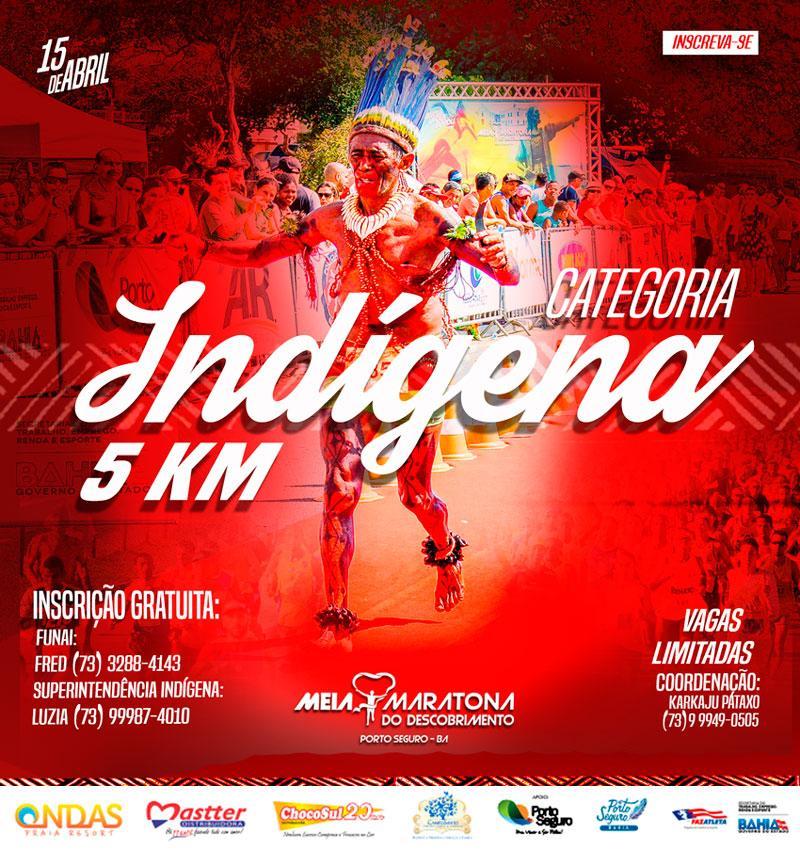 Abertas as Inscrições para Categoria Indígena!