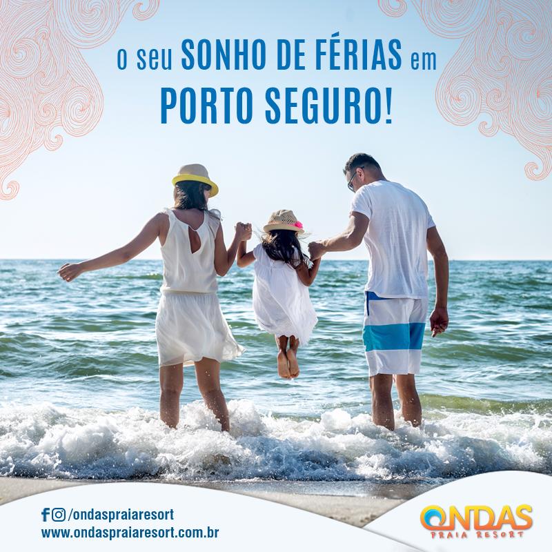 Ondas Praia Resort Patrocinador Master da Meia Maratona do Descobrimento Porto Seguro