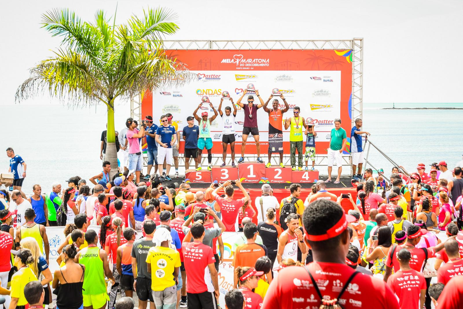 Categoria indígenas é um dos  destaque Meia Maratona do Descobrimento
